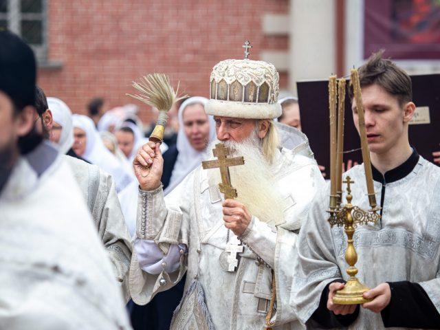 Престольный праздник в храме-колокольне на Рогожском