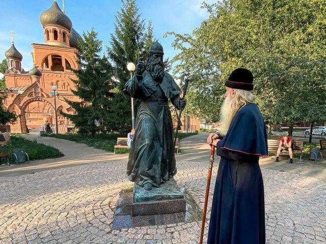 Сквер в Казани назвали в честь митрополита Андриана
