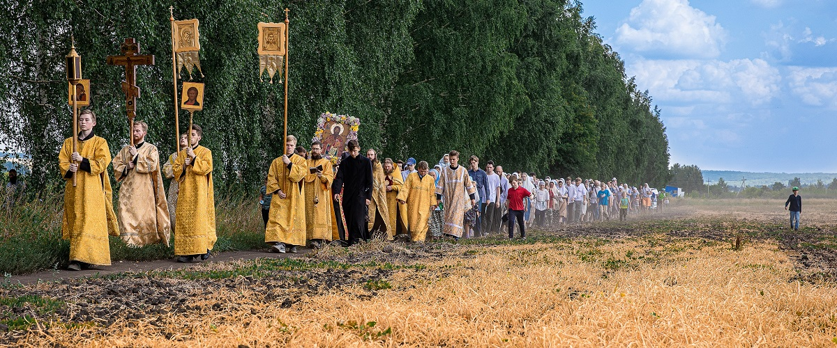 Крестный ход в Григорово