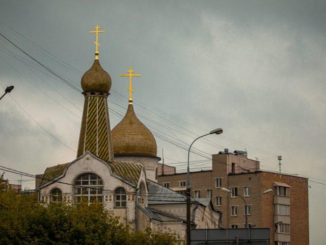 Крест - красота церковная