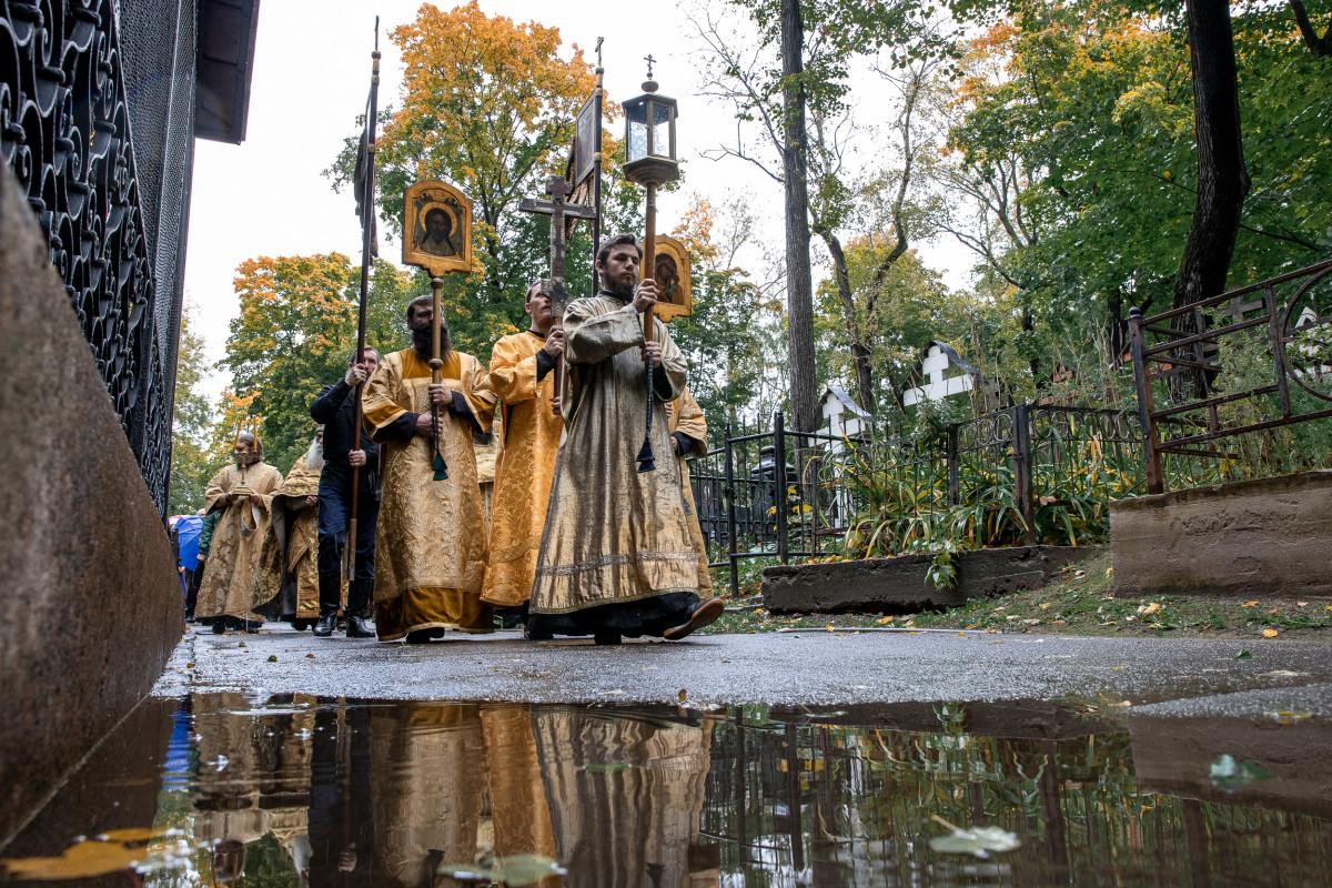 В столице отметили 250-летие основания Рогожского кладбища