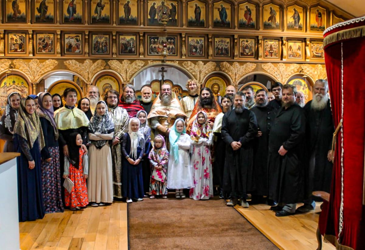 Праздник Воздвижения Честнаго Креста у старообрядцев Орегона