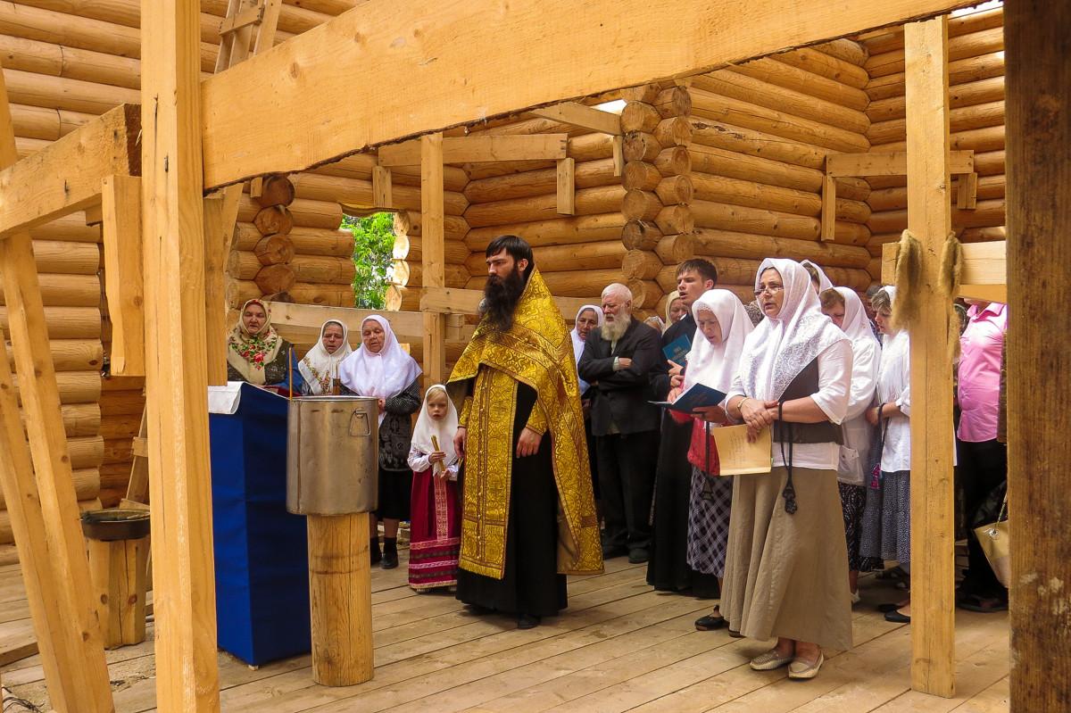 Первый храм на севере Нижегородчины