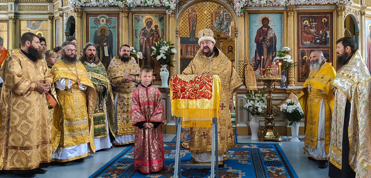 Престольный праздник в г. Вилково