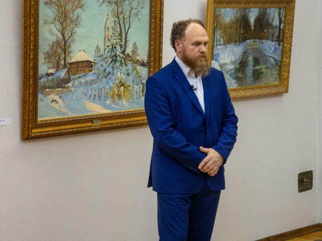 Юбилейная выставка Олега Молчанова