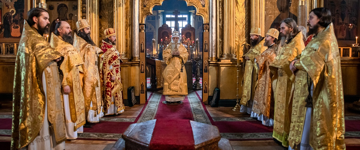 Праздник Покрова на Рогожском