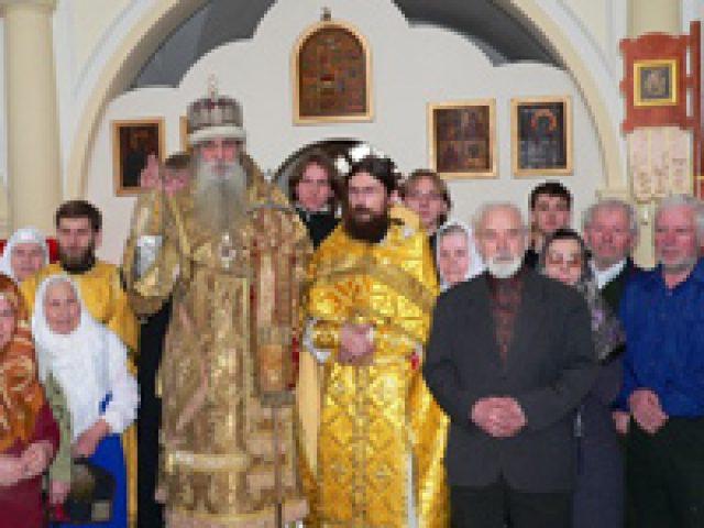 Митрополит Корнилий в Самаре