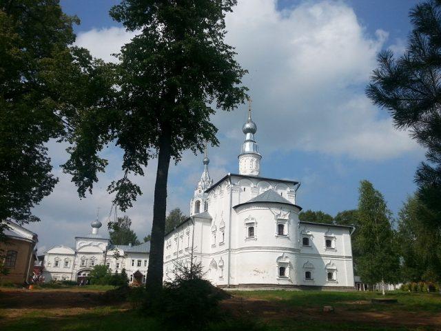 Освящение храма в Николо-Улейминском монастыре