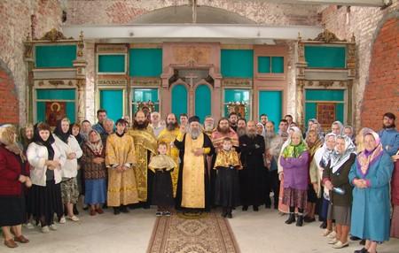 Престольный праздник в деревне Кузнецы
