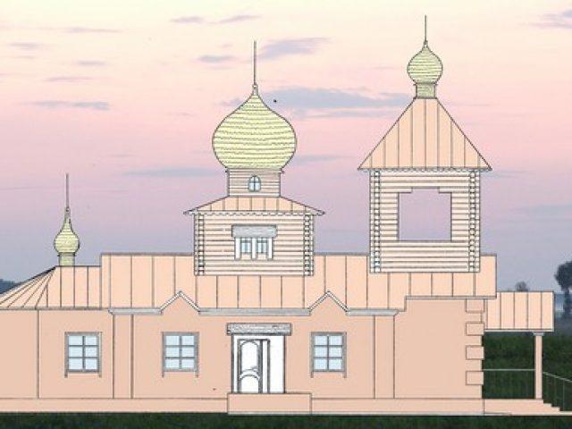 В городе Меленки заложен фундамент под строительство храма