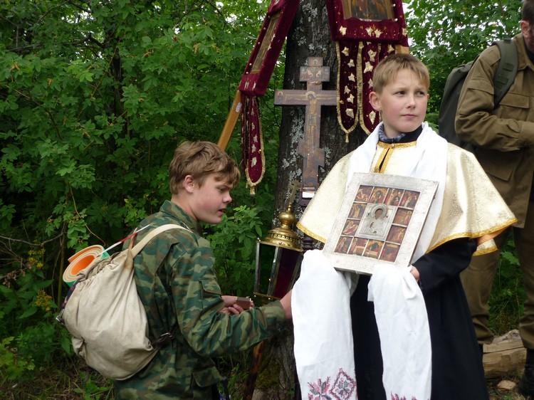 Крестный ход в село Великорецкое 2009 г. (II часть)