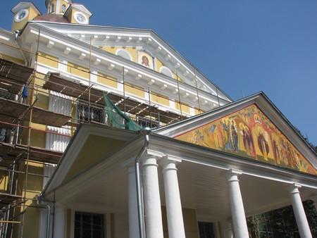Покровский кафедральный собор накануне престольного праздника