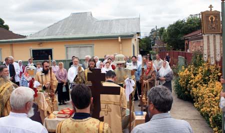 Archpastoral visit to Australia, 2010