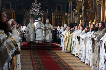На Рогожском прошли торжества, посвященные неделе святых Жен-Мироносиц