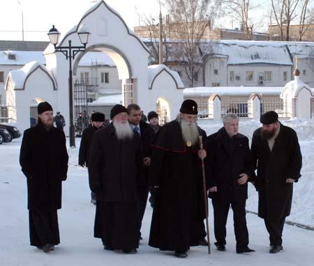 Визит на Рогожское Председателя Совета Федерации Сергея Миронова