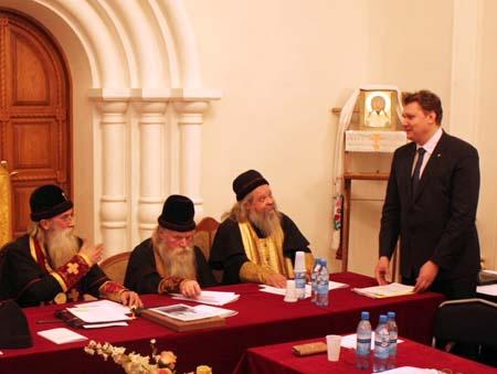 Первый день заседания Совета Митрополии