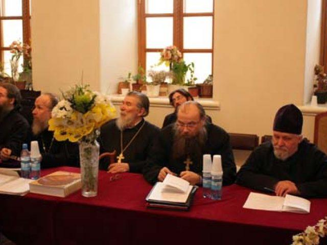 Второй день заседания Совета Митрополии
