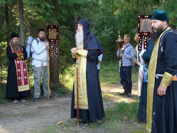 В Казанской и Вятской епархии состоялся крестный ход на реку Великую