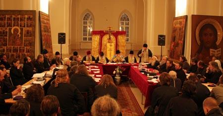 В Москве на Рогожском начал работу Освященный Собор