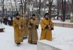 В храме под колокольней на Рогожском возобновились богослужения