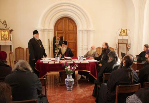 На Рогожском состоялось заседание Московской епархии