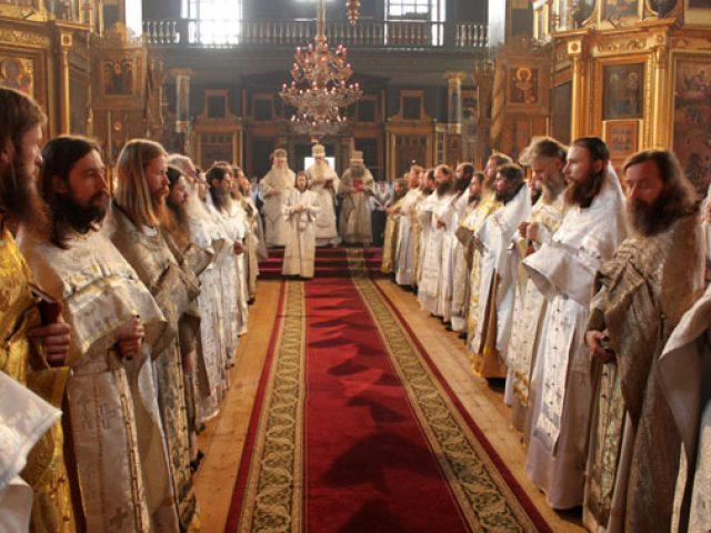 Торжества на Рогожском в Неделю святых жен-мироносиц