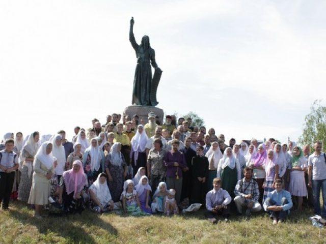 Из села Большое Мурашкино на родину свщмч. Аввакума прошел крестный ход