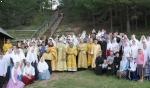 В Казанско-Вятской епархии прошел одиннадцатый крестный ход на реку Великую