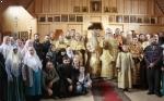 Освящение храма в г. Новокузнецке