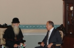 Поездка предстоятеля Русской Православной Старообрядческой Церкви в Санкт-Петербург