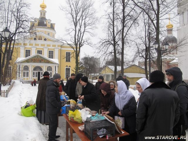 На праздник Богоявления на Рогожском пройдет ярмарка