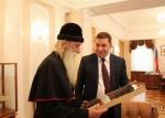 Встреча с губернатором Свердловской обл. Е.В. Куйвашевым