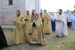 Освящение храма во Фролово