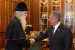 Встреча с президентом Республики Татарстан