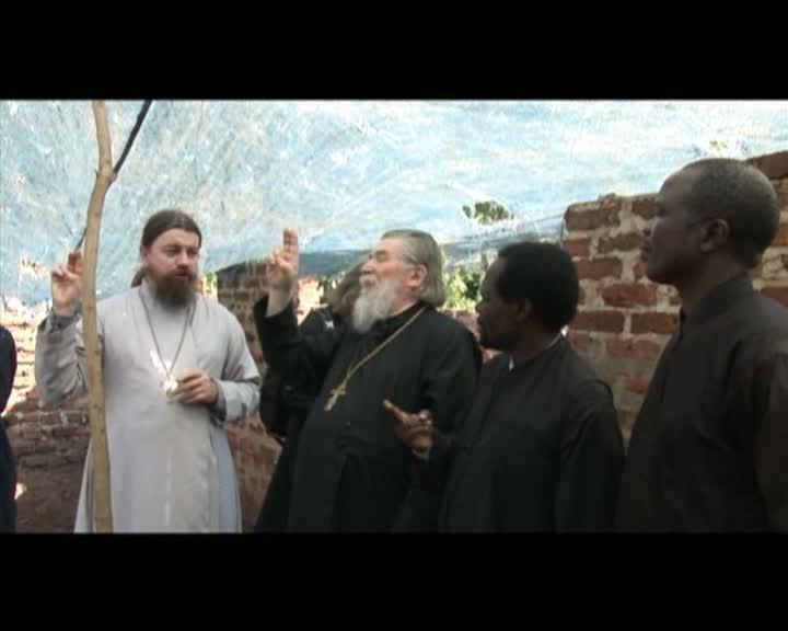 Поездка делегации Московской Митрополии в Уганду