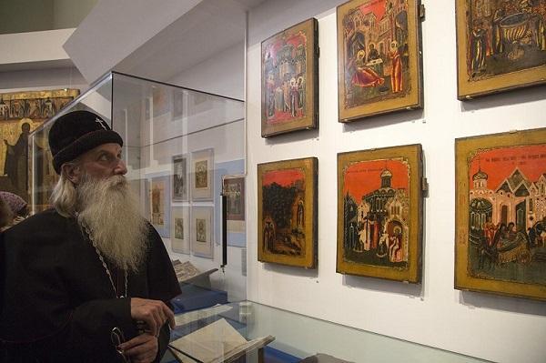 Выставка преподобному Сергию Радонежскому