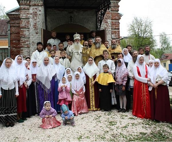 Освящение храма в г.Ковров