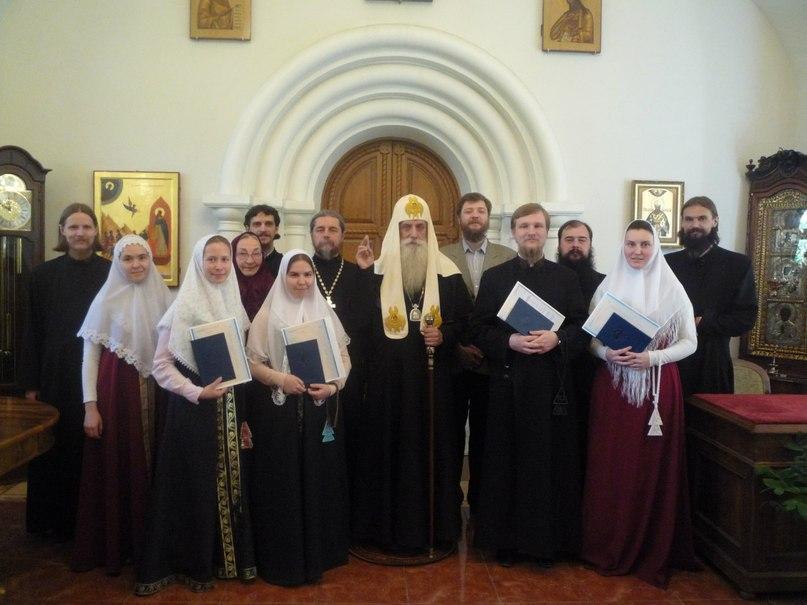 Московское духовное училище подводит итоги года