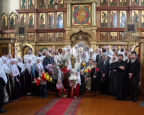 Митрополит Корнилий в Сибири