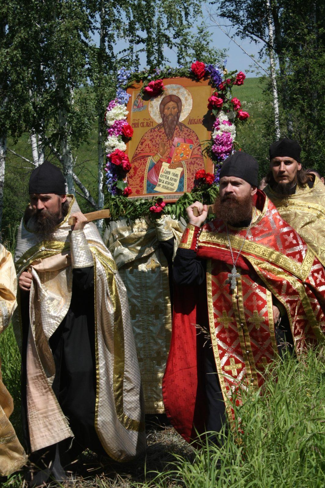 Крестный ход в селе Большое Мурашкино