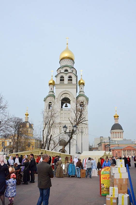 Торжества в Неделю жен-мироносиц на Рогожском