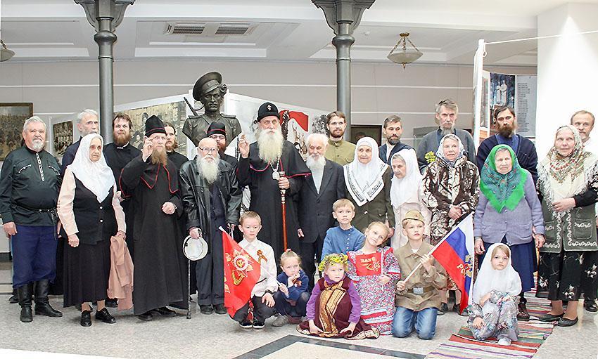 Чествование ветеранов на Рогожском
