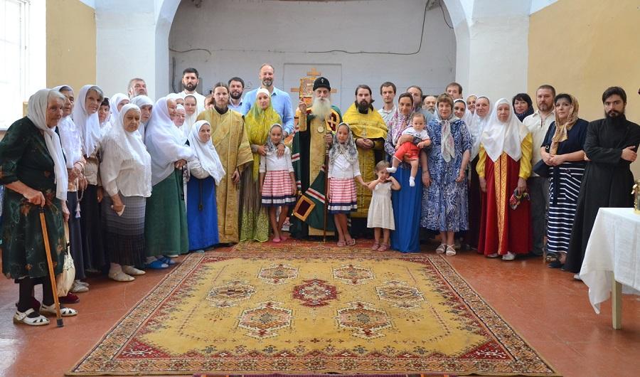 Молебен в старообрядческом храме. Симферополь
