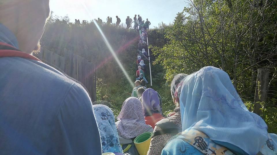 В Казанско-Вятской епархии прошел Великорецкий крестный ход