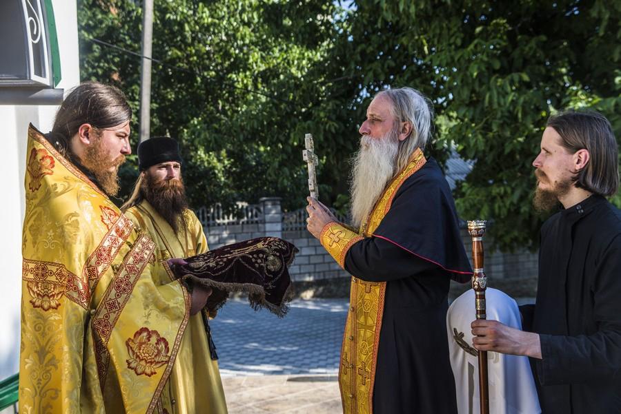 Митрополит Корнилий в Бендерах и Кишиневе 2015