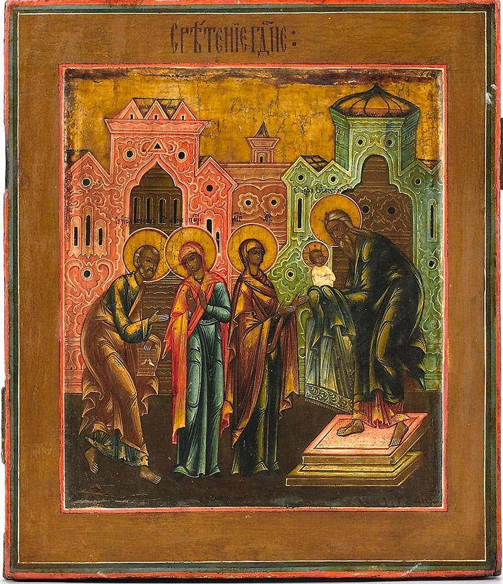 Проповедь на праздник Сретения Господня