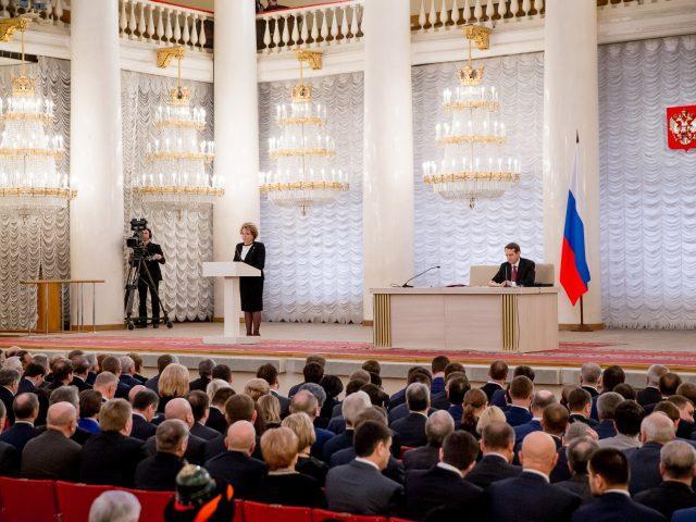 Митрополит Корнилий принял участие в совместном собрании Совета Федерации и Государственной Думы