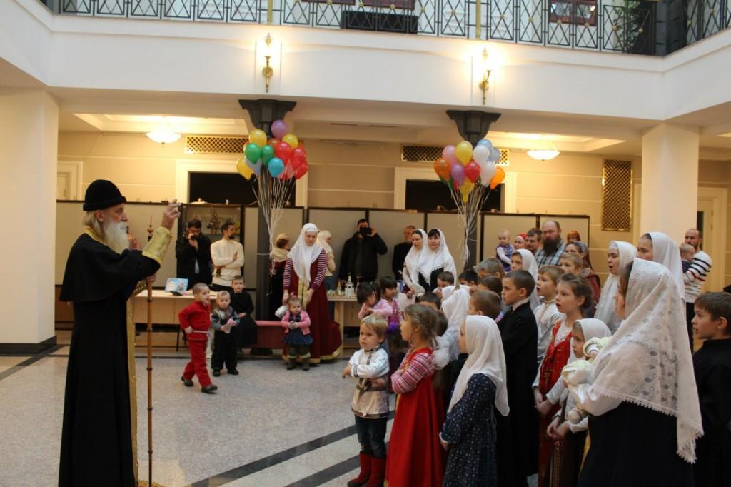 Детский праздник в Рогожской старообрядческой общине