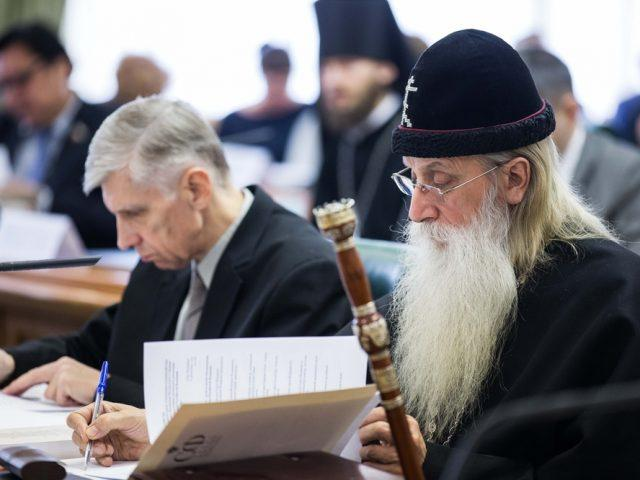 Митрополит Корнилий принял участие в заседании Совета по межнациональным отношениям и взаимодействию с религиозными объединениями