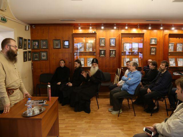 В Библиотеке истории русской философии и культуры состоялась презентация книги Д. Урушева «Русское старообрядчество»